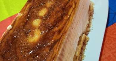 Hoy flan de queso filadelfia