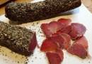 Solomillo curado  Cocina sin Carné Solomillo ibérico curado en casa