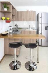 Cocinas con distintos tipos de barras americanas Cocimobel