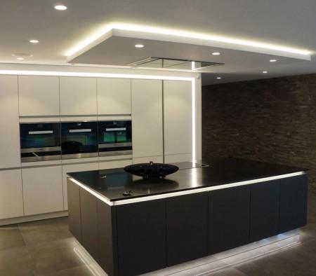 Sistemas de iluminacin para la cocina  Cocimobel