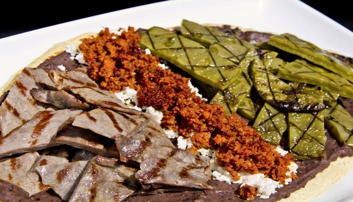 Huarache con carne Receta mexicana original  COCINA