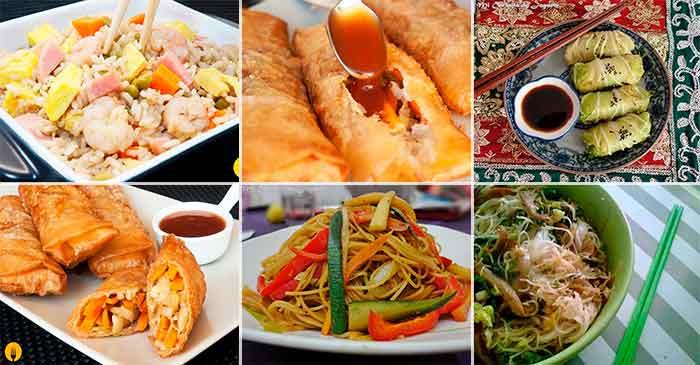 Recetas de Recetas de Comida China  COCINACASERACOM