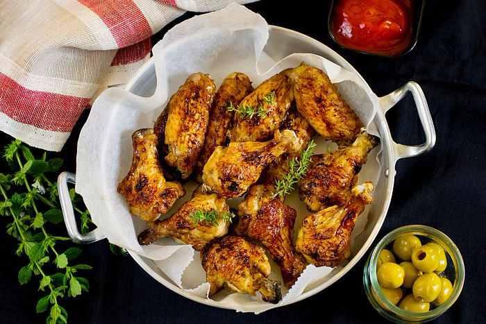 Pollo al horno fcil  Recetas de Cocina Casera fciles y