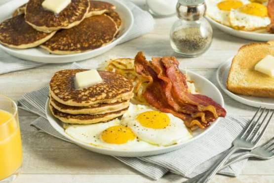 Resultado de imagen de desayuno americano