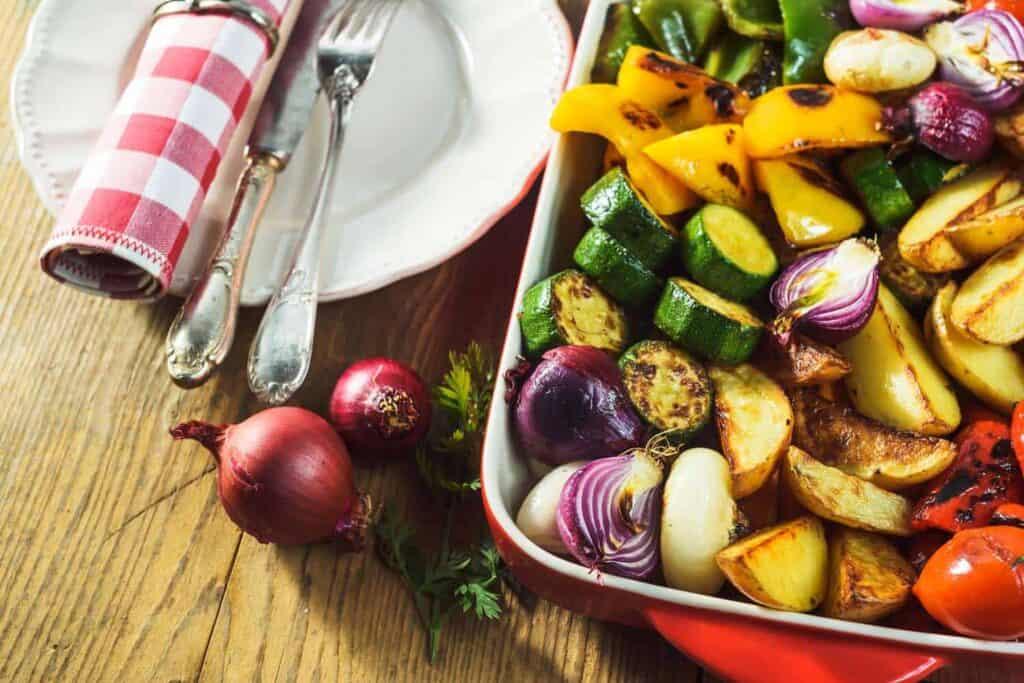 Verduras al Horno Receta - Cocina Guru