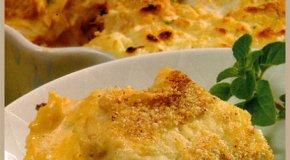 Pastel de pollo cremoso