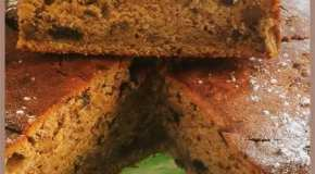 Torta de ciruelas y nueces
