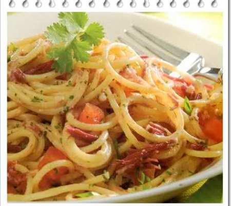 spaghetti a la brasileña