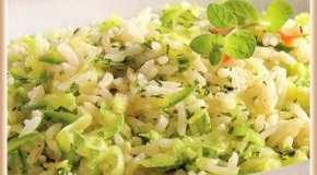 Arroz con zucchini
