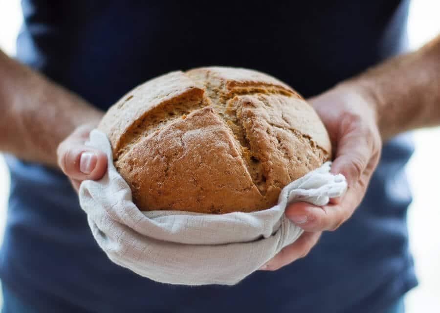 receta de pan integral sin levadura