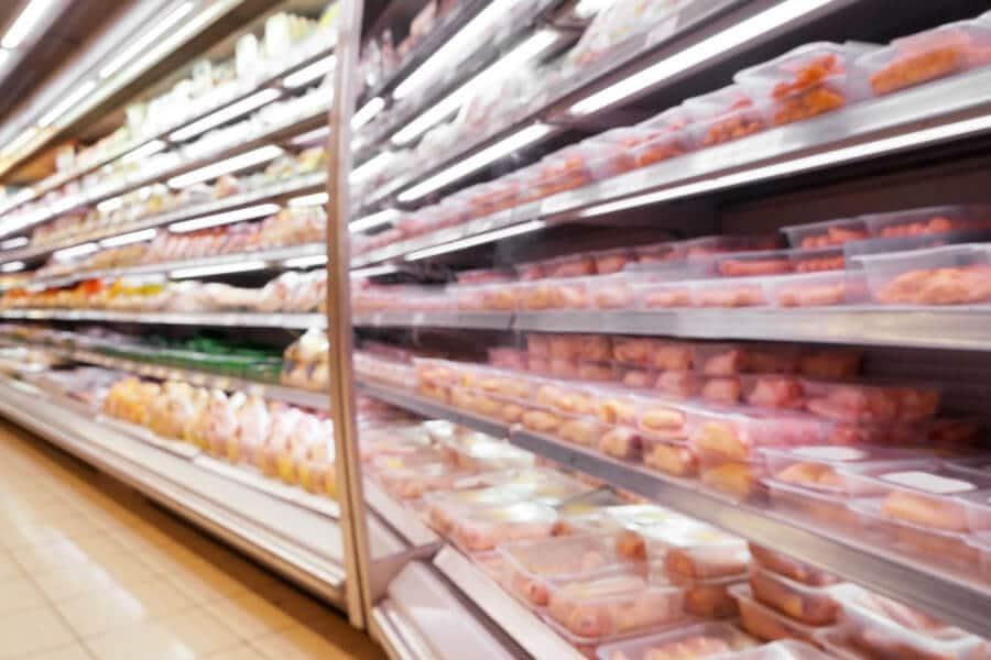 Carne envasada de venta en hipermercados