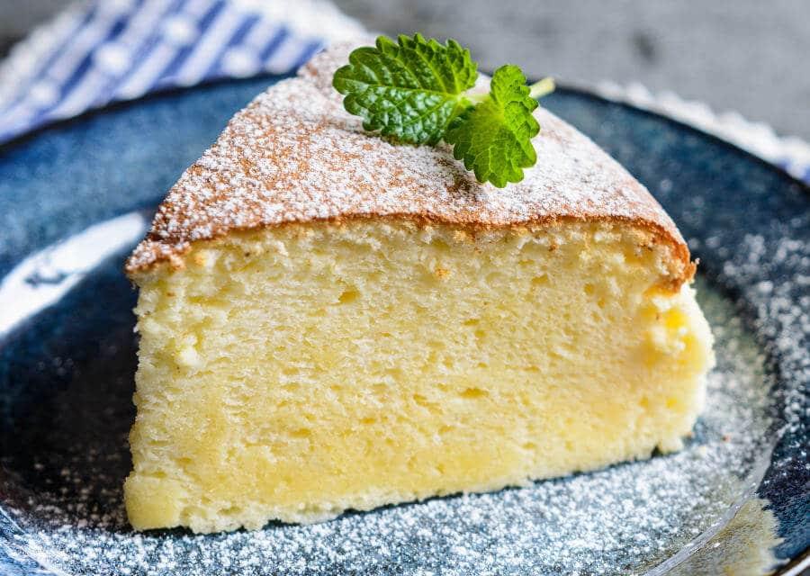 Pastel de queso japonés [Receta fácil y ligera]