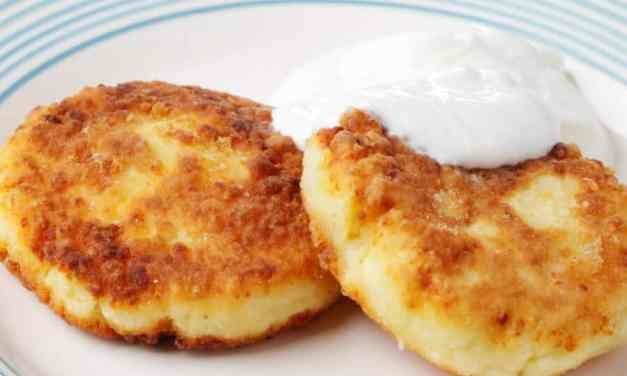 Tortitas de queso [Receta  fácil y rápida]