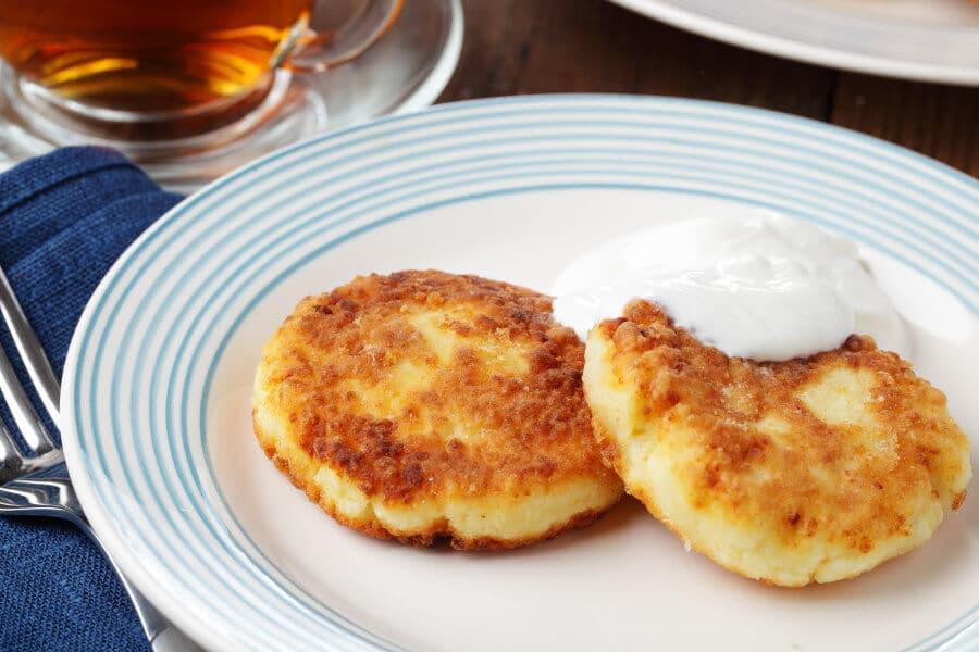Tortitas de queso