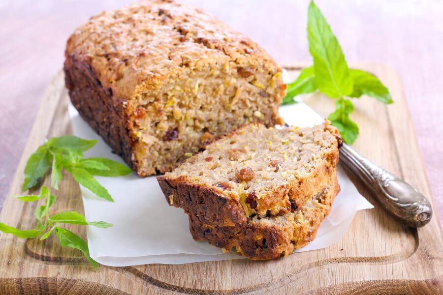 Pan dulce de calabacín