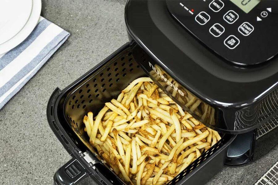 Cocinar con freidoras sin aceite