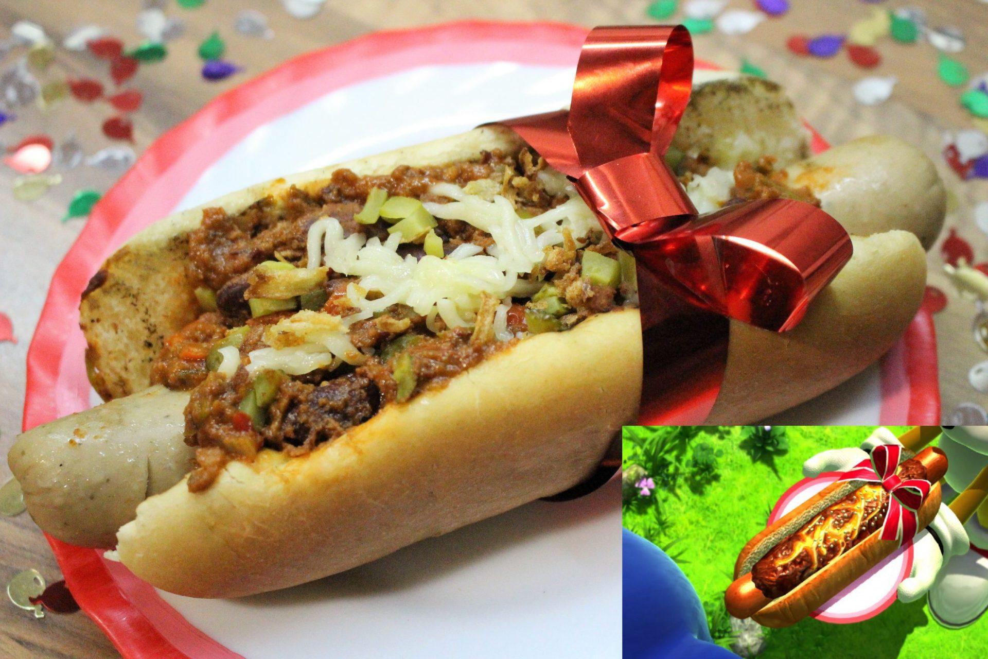 FOTO SONIC'S BIRTHDAY CHILI DOG - Cocina con Gemma