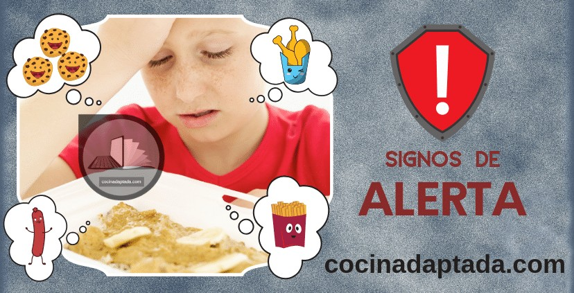 Signos alerta autismo alimentación
