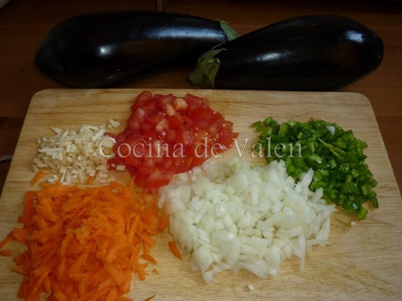 Berenjenas gratinadas - Cocina de Valen