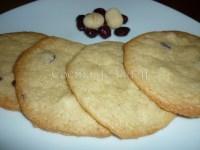 Galletas de nueces de macadamia