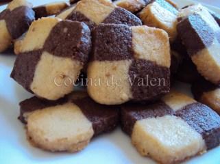 Galletas Ajedrez - Cocina de Valen