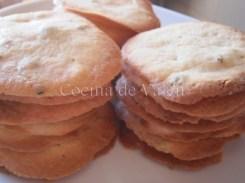 Galletas de Pistacho y Chocolate Blanco