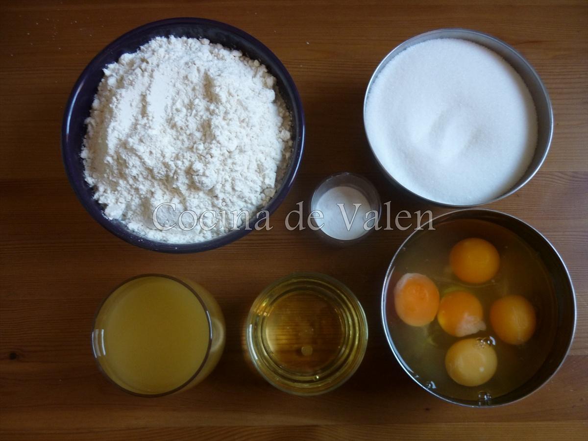 Bizcocho para el desayno sin complicaciones - Cocina de Valen
