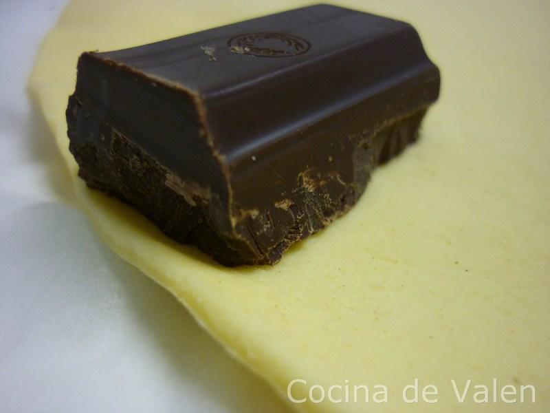 Cañas de Chocolate - Cocina de Valen