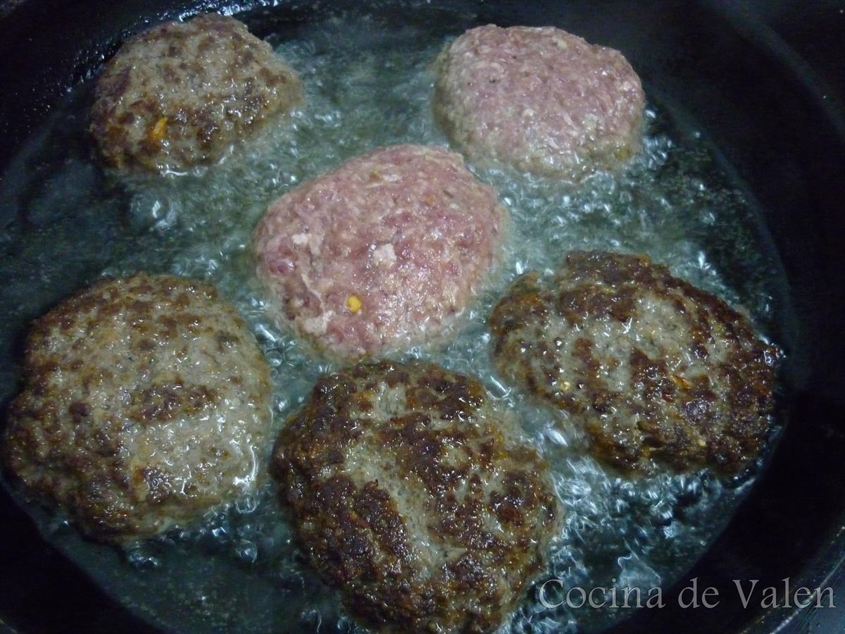 Tortitas de Carne molida