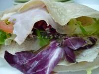 Creppes saladas o galettes