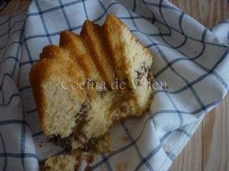 Bizcocho con canela y nueces - Cocina de Valen