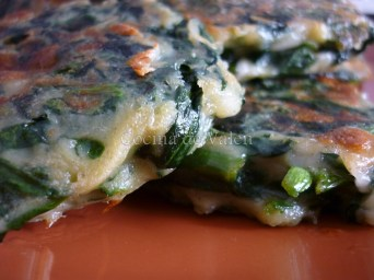 Tortitas de Espinaca a la plancha