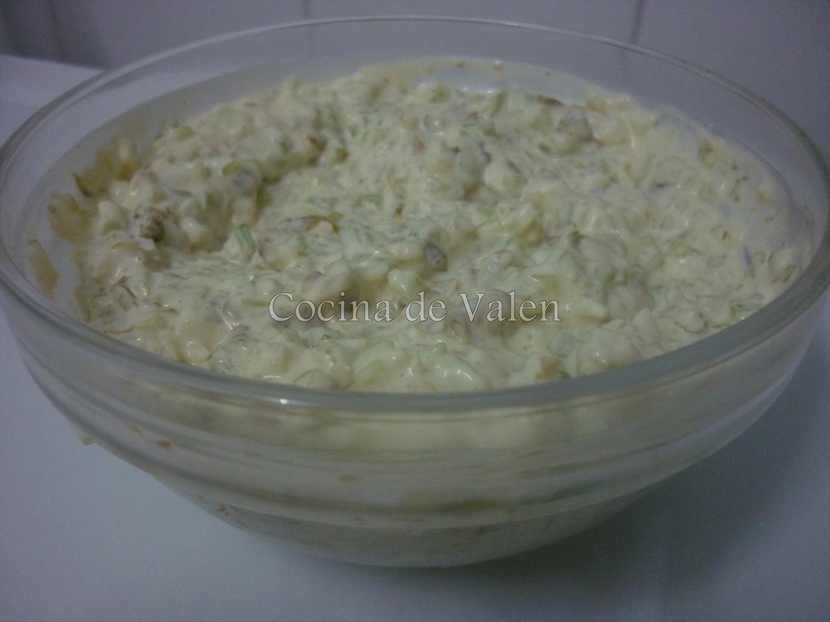 Salsa de céleri para el sanduchón