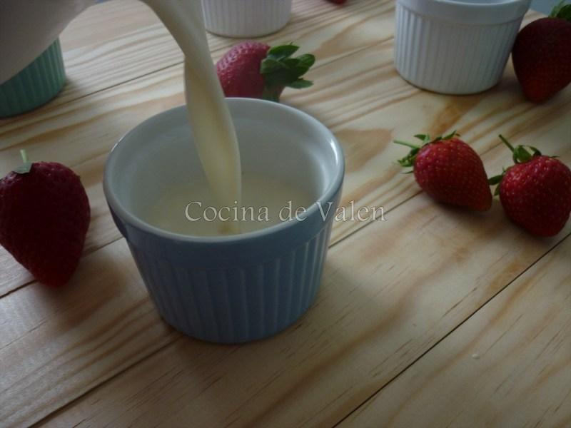 Panna Cotta - Cocina de Valen