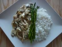 Strogonoff de Pollo - Cocina de Valen