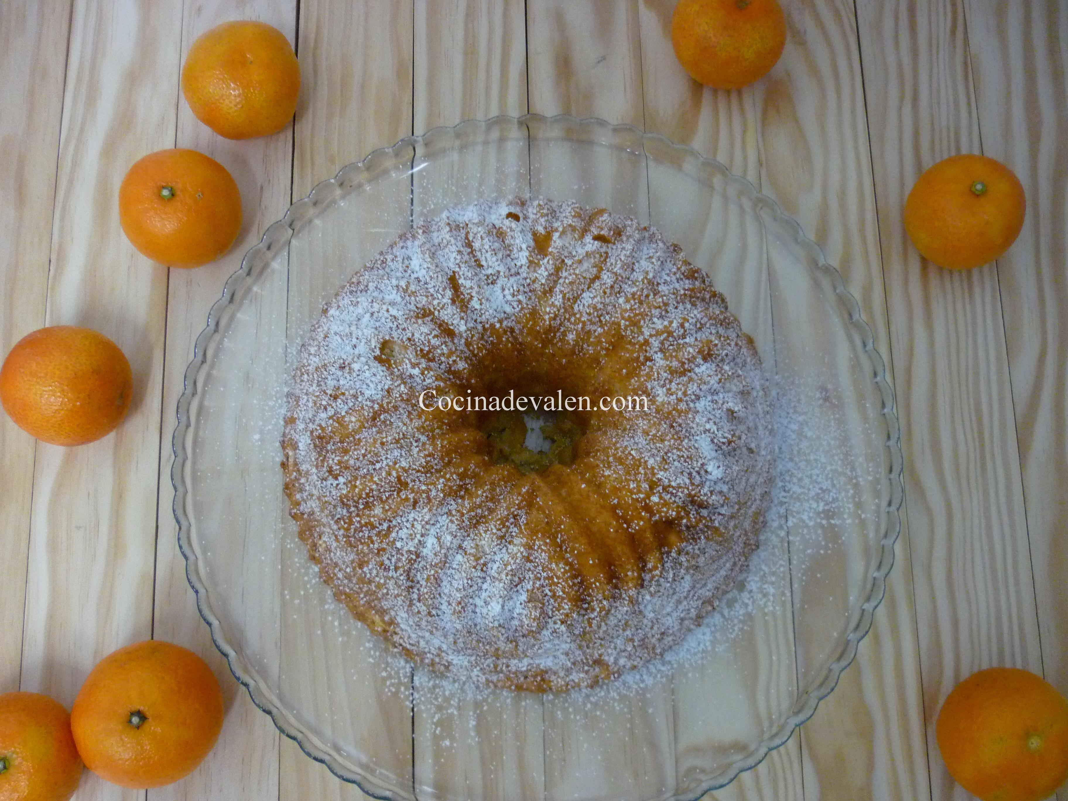 Bizcocho de Mandarina - Cocina de Valen