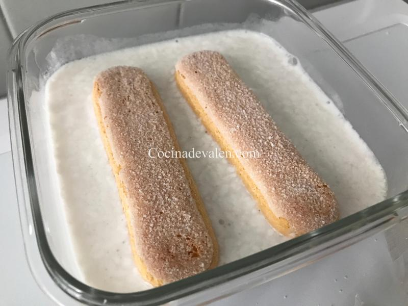 Tiramisú de Coco - Cocina de Valen