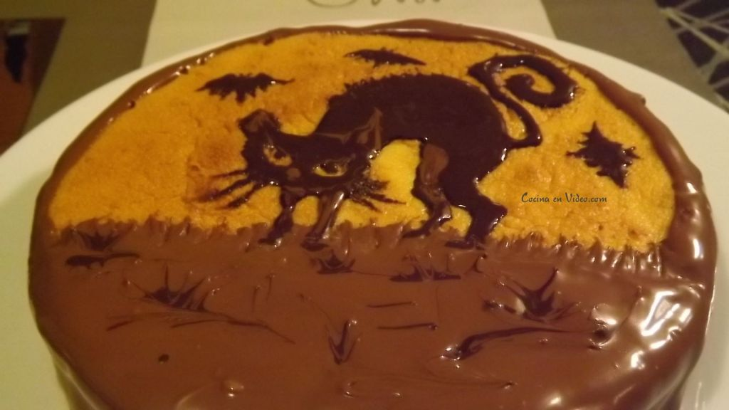 Tartas decoradas con chocolate