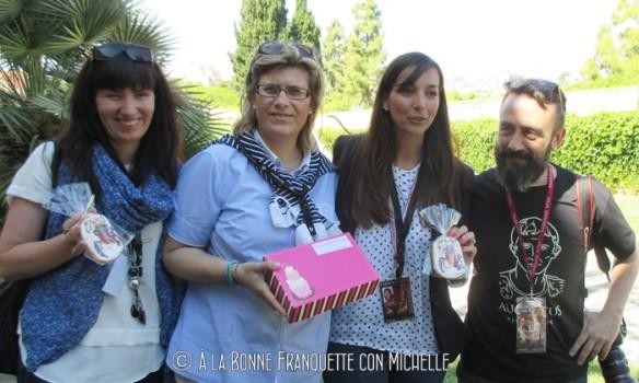 de izd. a dch. Laura Batat, Silvia Franconetti, Patricia Antón, Manel R. Granell