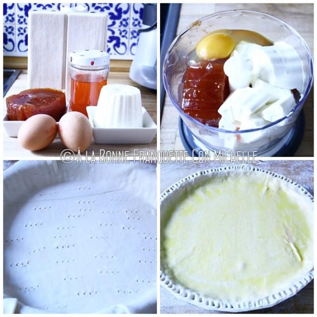 Hojaldre de membrillo y queso fresco