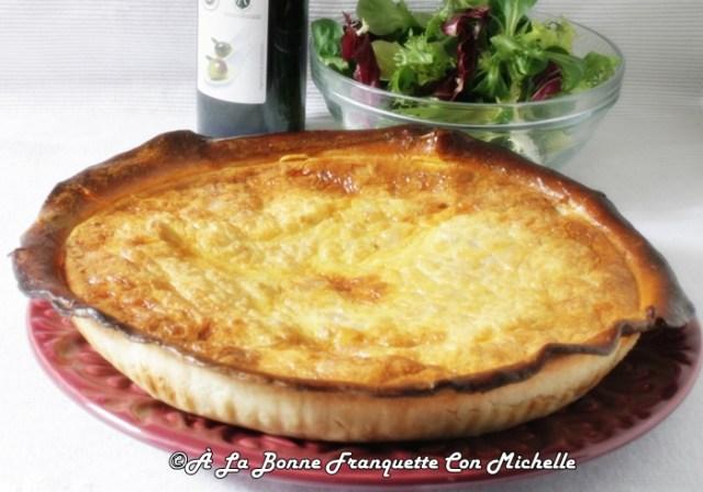 Quiche_loraine_au Fromage_a_la_bonne_franquette_con_mcihelle_receta_facil-2