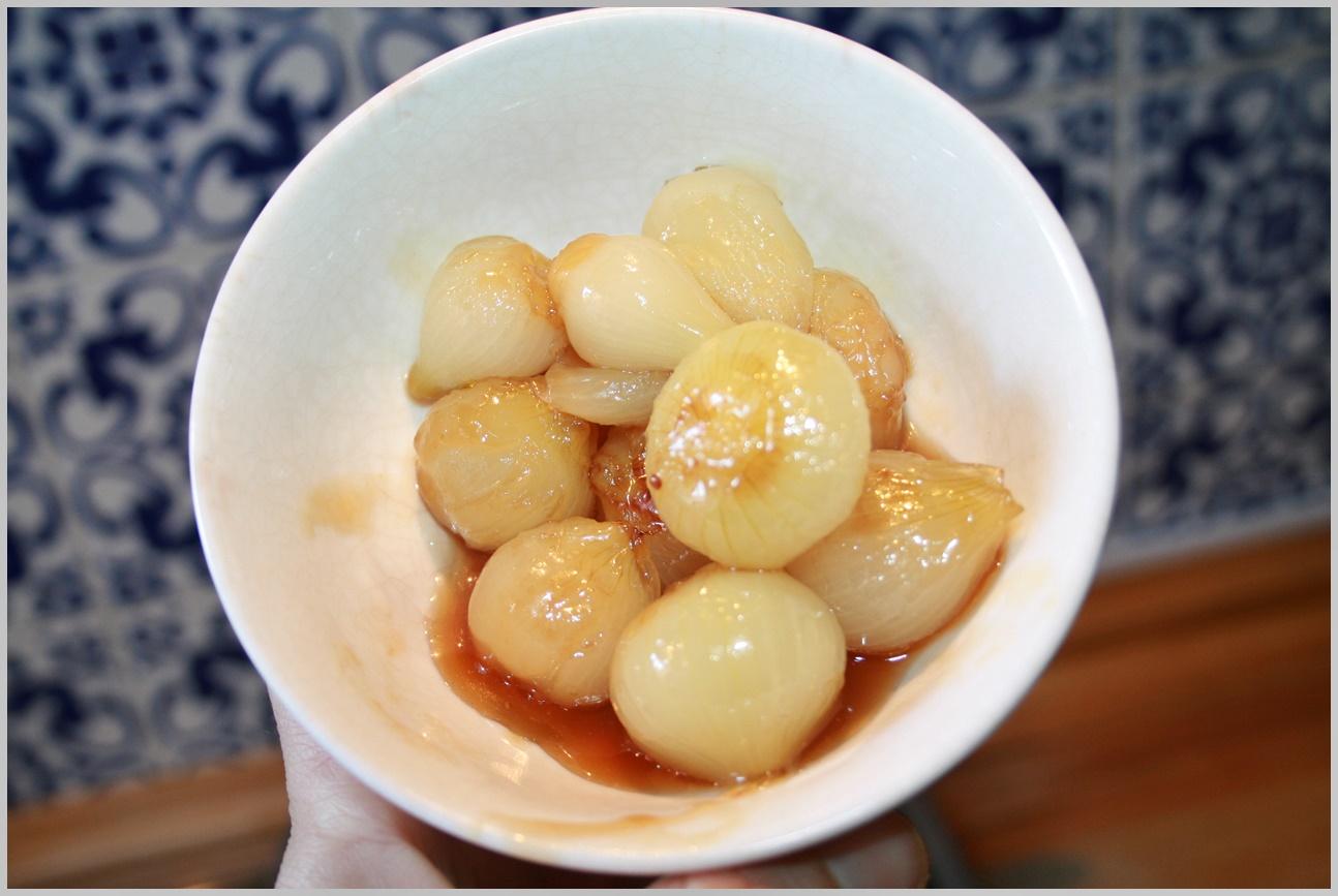 cocinafrancia cebollitas glaseadas