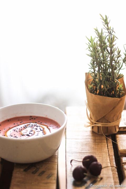 Gazpacho de cerezas cocinando el cambio - Cocinando el cambio ...
