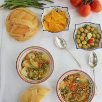 Sopa perota, receta tradicional de Alora, Málaga
