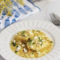 Bacalao en amarillo, una receta de Cuaresma