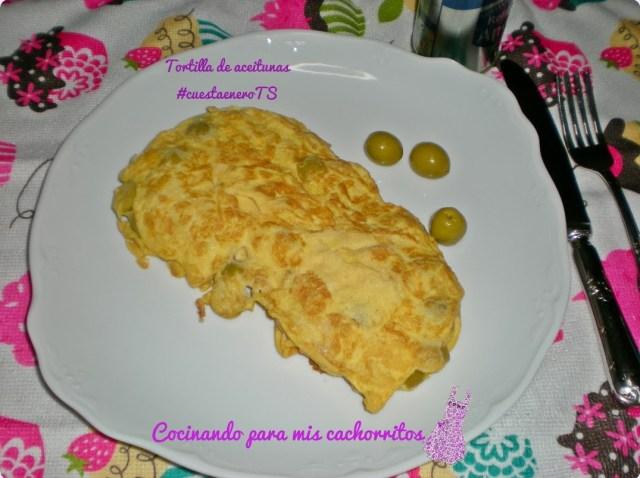 Receta de tortilla de aceitunas