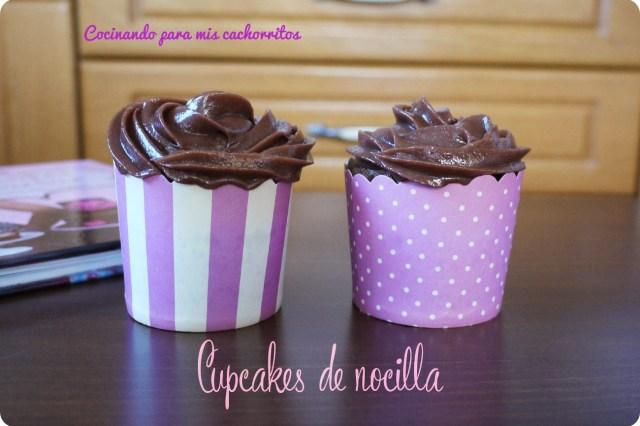 Cupcakes saludables de nocilla