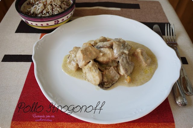 pollo strogonoff
