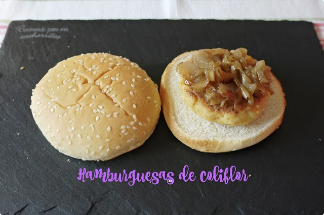 hamburguesas de coliflor