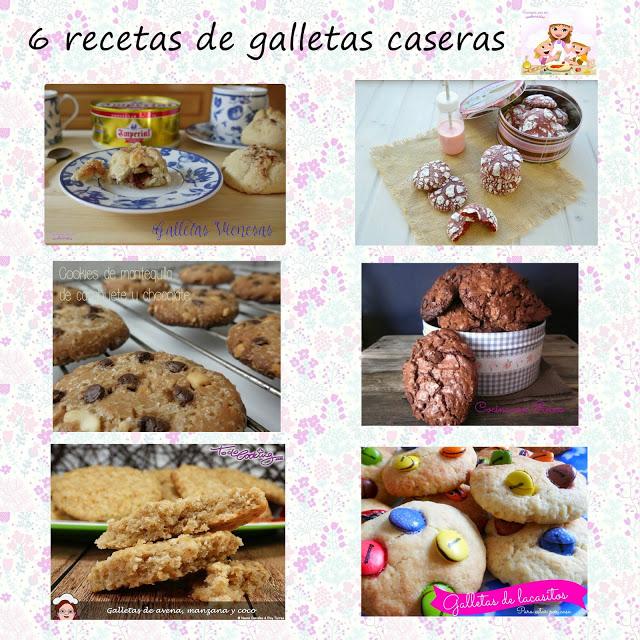 6 recetas de galletas caseras